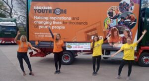 Fagan & Whalley Paint the town orange and go that extra mile to support young people struggling with mental health.