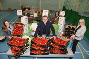 BLACKBURN YOUTH ZONE TO DELIVER 500 FOOD PARCELS TO FAMILIES ACROSS TOWN THIS WEEKEND.