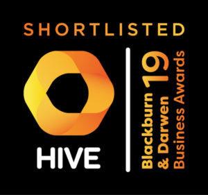 Blackburn Youth Zone is in the running for three HIVE Blackburn with Darwen Business Awards.