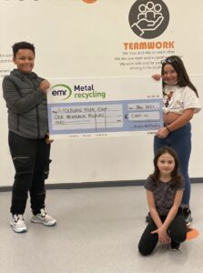 EMR Metal Recycling donates £1000 to Blackburn Youth Zone