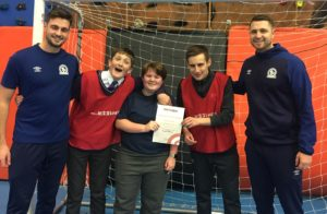 Beth wins volunteer of the month