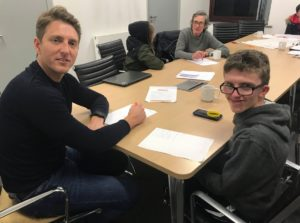Young People Prepare for Youth Zone Entrepreneur Event