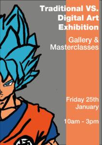 Traditional vs Digital Art Exhibition