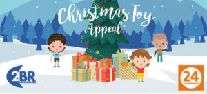 The 2BR Christmas Toy Appeal is back and BYZ is a drop off point