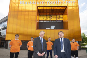 Blackburn Youth Zone is set to paint the town orange.