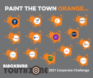 Paint the town Orange Corporate Challenge starts today!!